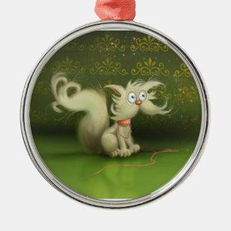 cute cartoon cat Ornament