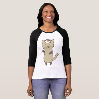 Cute Cartoon Cat T-Shirt
