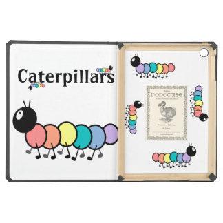 Cute Cartoon Caterpillars Case For iPad Air