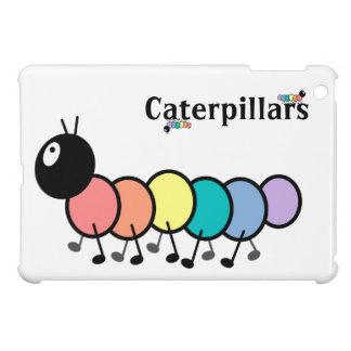 Cute Cartoon Caterpillars iPad Mini Cases