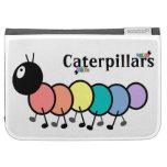 Cute Cartoon Caterpillars Kindle Keyboard Covers