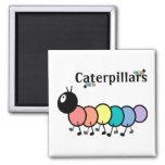 Cute Cartoon Caterpillars Magnet