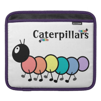 Cute Cartoon Caterpillars Sleeve For iPads