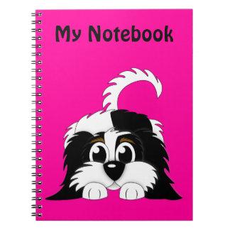 Cute Cartoon Cavachon Spiral Notebook