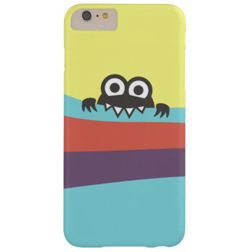 Cute Cartoon Character With Sharp Teeth Colorful iPhone 6 Plus Case