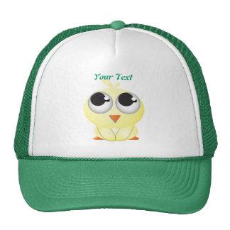 Cute Cartoon Chick Mesh Hat