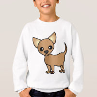 Cute Cartoon Chihuahua Sweatshirt