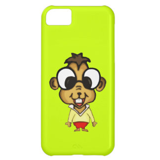 Cute Cartoon Chipmunk Cover For iPhone 5C