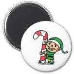 Cute Cartoon Christmas Elf Magnet Fridge Magnet