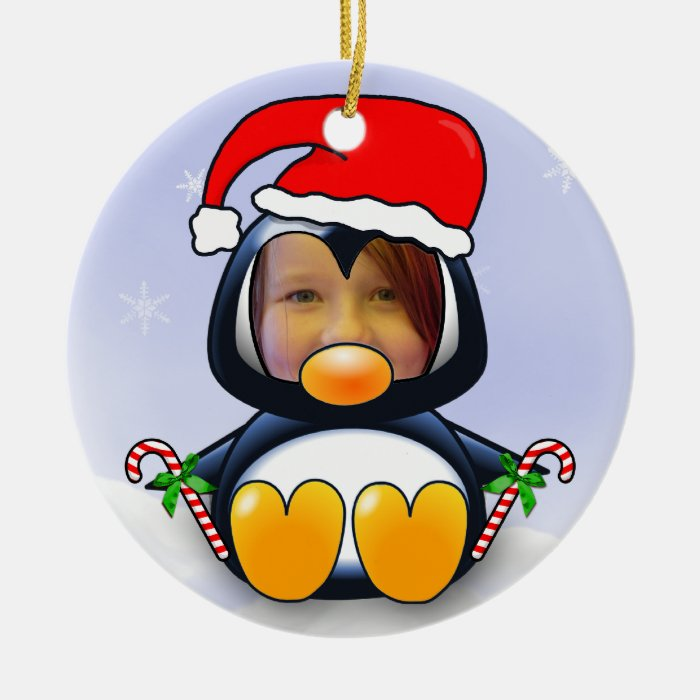 Cute Cartoon Christmas Penguin