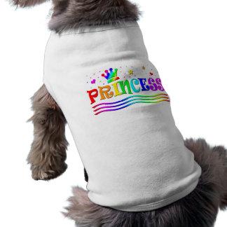 Cute Cartoon Clip Art Rainbow Princess Tiara Shirt