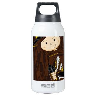 Cute Cartoon Cowboy Cowgirl Insulated Water Bottle