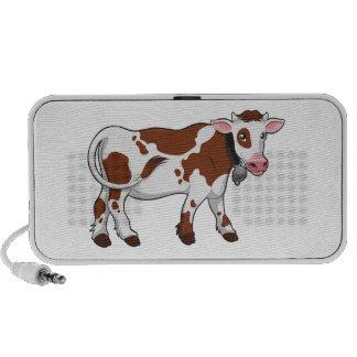 Cute Cartoon Dairy Cow Portable Speakers