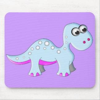 Cute Cartoon Dinosaur Mouse Pad