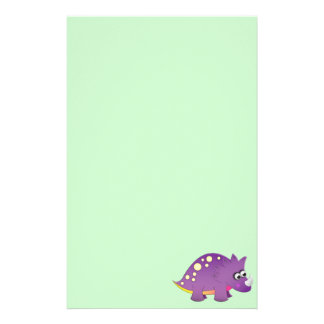 Cute Cartoon Dinosaur Stationery