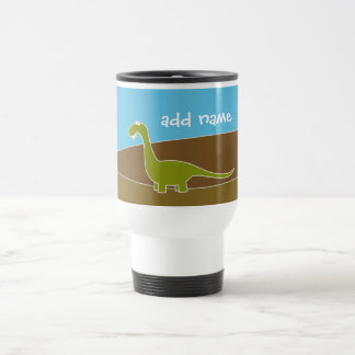 Cute Cartoon Dinosaur Travel Mug