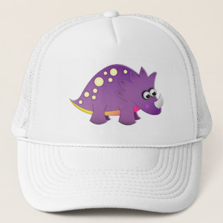Cute Cartoon Dinosaur Trucker Hat