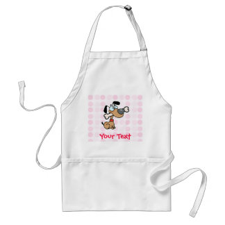 Cute Cartoon Dog Adult Apron