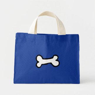 Cute Cartoon Dog Bone Mini Tote Bag