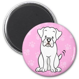 Cute Cartoon Dog Boxer Magnet