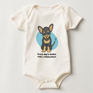 Cute Cartoon Dog Chihuahua T-Shirt