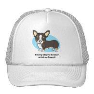 Cute Cartoon Dog Corgi Hat