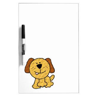 Cute Cartoon Dog Dry Erase Board