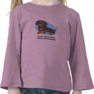 Cute Cartoon Dog Kid T-shirt