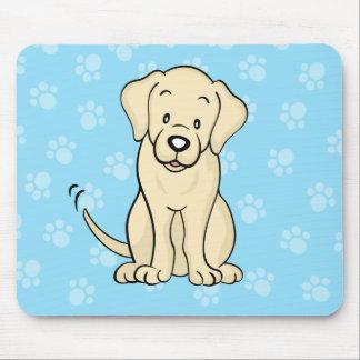Cute Cartoon Dog Labrador Mousepad