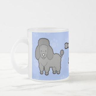 Cute Cartoon Dog Poodle Mug