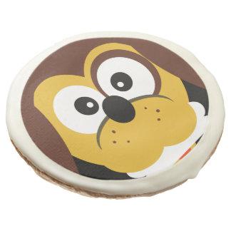 Cute Cartoon Dog With Bone Kids  Cookies