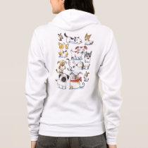 cute cartoon dogs hoodie