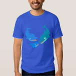 Cute Cartoon Dolphin Family T-Shirt
