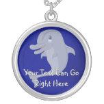 Cute Cartoon Dolphin Necklace
