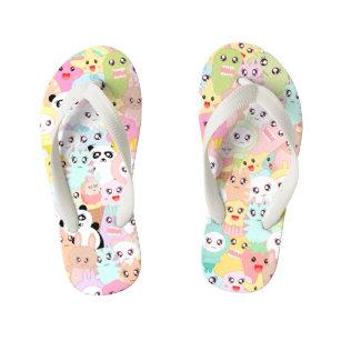 08485eaf67bb5d Cute Girly Kawaii Sandals   Flip Flops