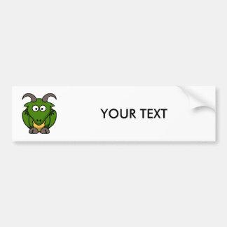 Cute Cartoon Dragon Bumper Stickers