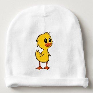 Cute Cartoon Duck Baby Beanie