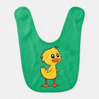 Cute Cartoon Duck Baby Bib