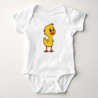 Cute Cartoon Duck Baby Bodysuit