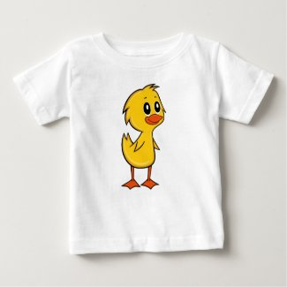 Cute Cartoon Duck Baby T-Shirt