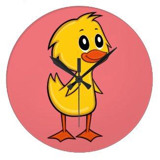 Cute Cartoon Duck Clock