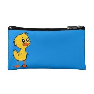 Cute Cartoon Duck Cosmetic Bag