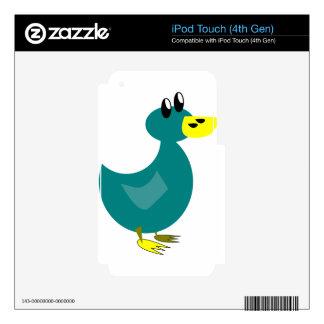 Cute Cartoon Duck iPod Touch 4G Skins