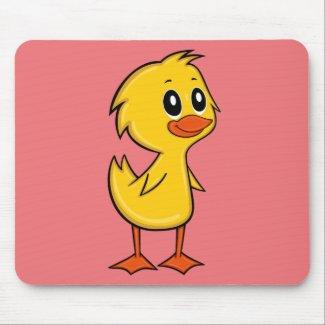 Cute Cartoon Duck Mouse Pad