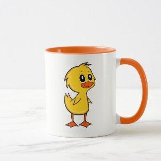 Cute Cartoon Duck Mug