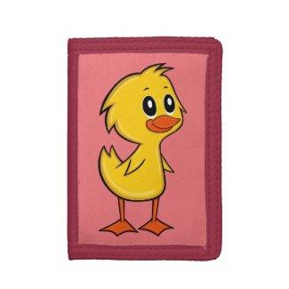 Cute Cartoon Duck Wallet