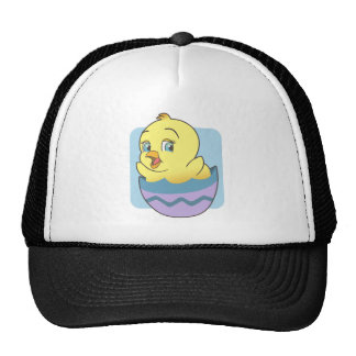Cute Cartoon Easter Chick Mesh Hat