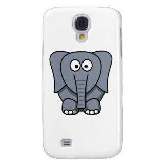 Cute Cartoon Elephant Clipart Samsung Galaxy S4 Cover