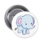 Cute Cartoon Elephant Shirts Pins