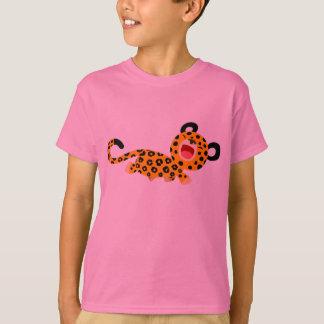 Cute Cartoon Facetious Leopard Children T-Shirt
